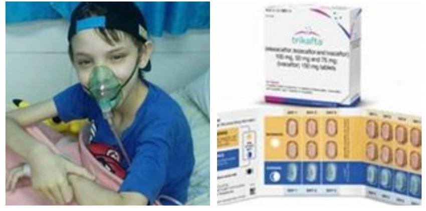 Piden ayuda en redes sociales para un niño cubano que padece fibrosis quística, y tiene necesidad urgente de un medicamento