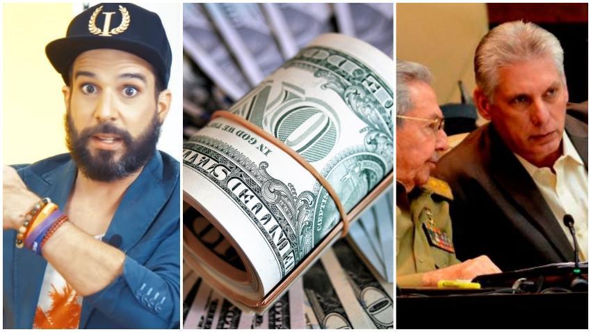 Otala describe a la dictadura en Cuba como el chulo al que los cubanos deben buscarles dólares