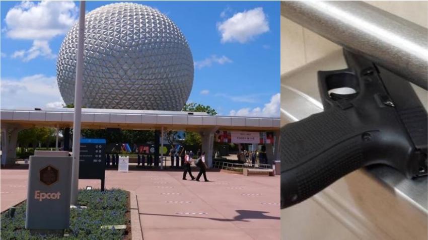 Mujer en Disney World es arrestada tras intentar entrar a un parque con dos pistolas