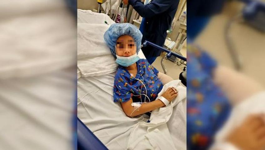 Niño de 7 años de la Florida resulta herido por una bala perdida mientras nadaba en la piscina de su abuela