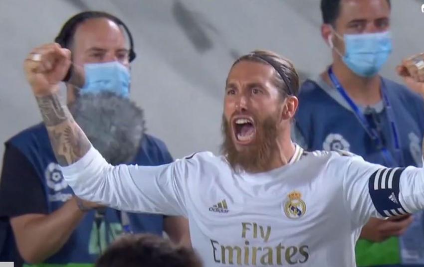 Real Madrid vence y se convierte en campeón de la Liga Española