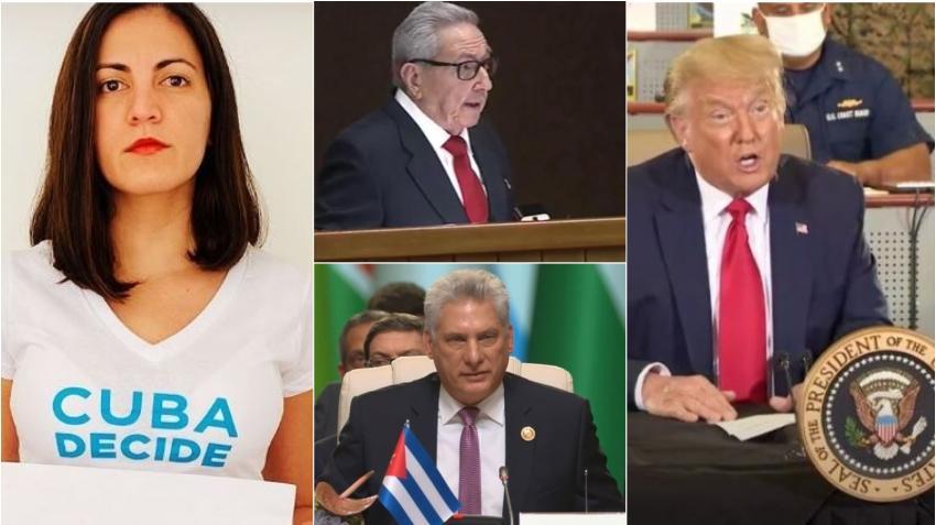 Opositora cubana Rosa María Payá pide a Trump enjuiciar a Raúl Castro y Canel y designar al ejército y al Partido Comunista en Cuba como organizaciones terroristas