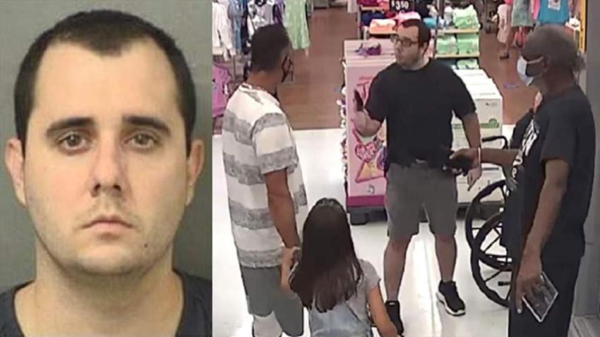 Ponen cargos contra el hombre que sacó un arma de fuego en un Walmart de Florida por una máscara