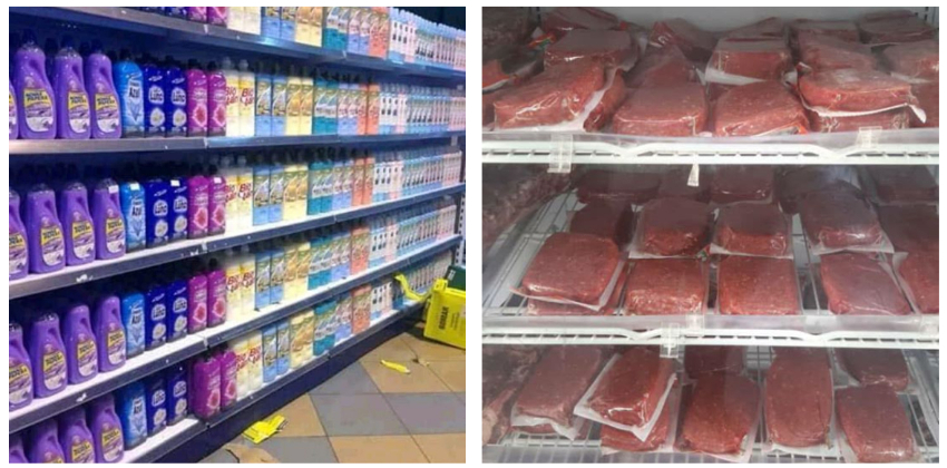 Las tiendas en dólares que abrirá el régimen este lunes sí están bien surtidas