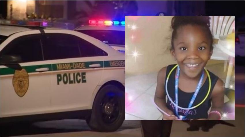 Niña de 7 años con muerte cerebral tras recibir disparo en la cabeza en vecindario del noroeste de Miami Dade