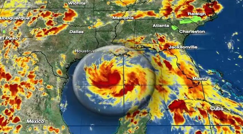 Depresión tropical se convierte en Tormenta Tropical Hanna en el Golfo de México