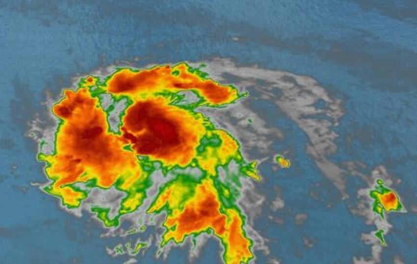 Se forma la tormenta tropical Gonzalo en el Atlántico