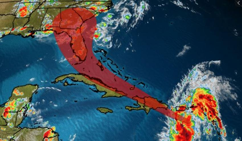 Se forma la tormenta tropical Isaias y podría afectar Florida el fin de semana