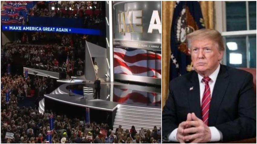 Presidente Trump cancela convención republicana en Jacksonville, Florida, por el coronavirus