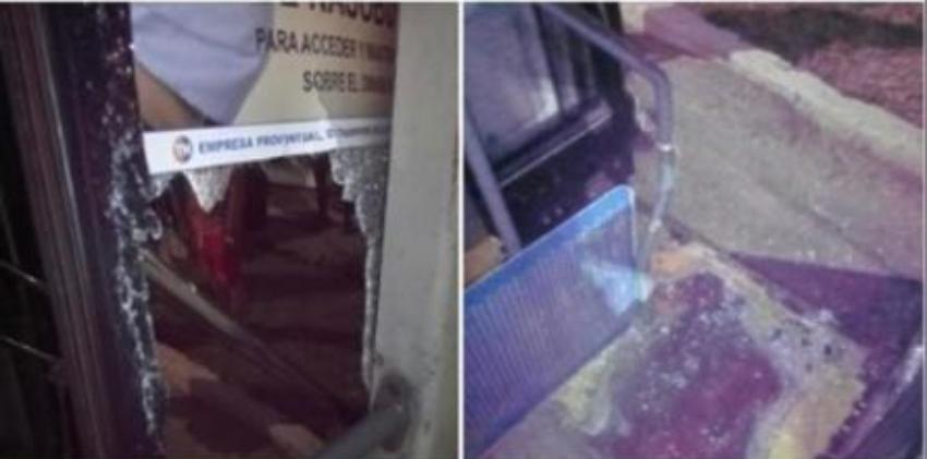 Atacan con piedras un ómnibus lleno de personas en La Habana