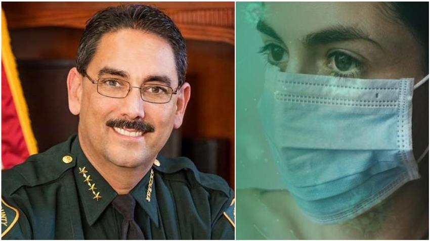 Sheriff de Florida le prohíbe a sus trabajadores y visitantes usar máscaras faciales