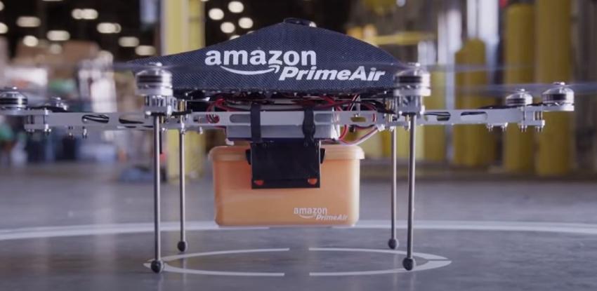 Amazon recibe certificación que le permitiría hacer entregas con drones