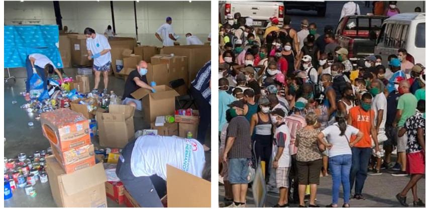 Piden a la Unión Europea presionar al régimen cubano para que libere la ayuda humanitaria retenida en el Puerto del Mariel