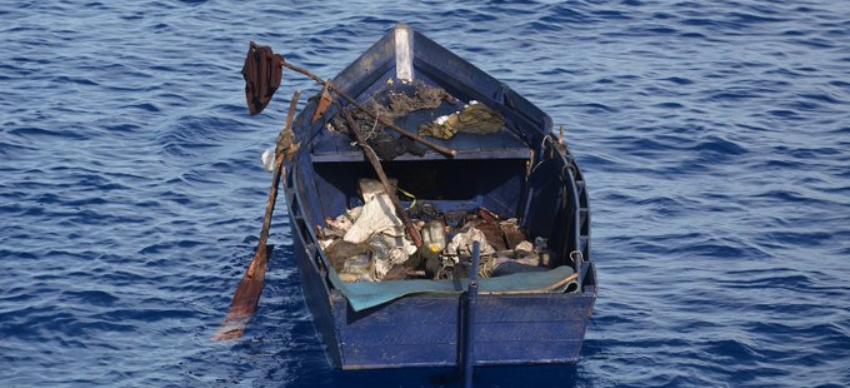 Catorce balseros cubanos son rescatados en el mar cerca de Isla Mujeres, México