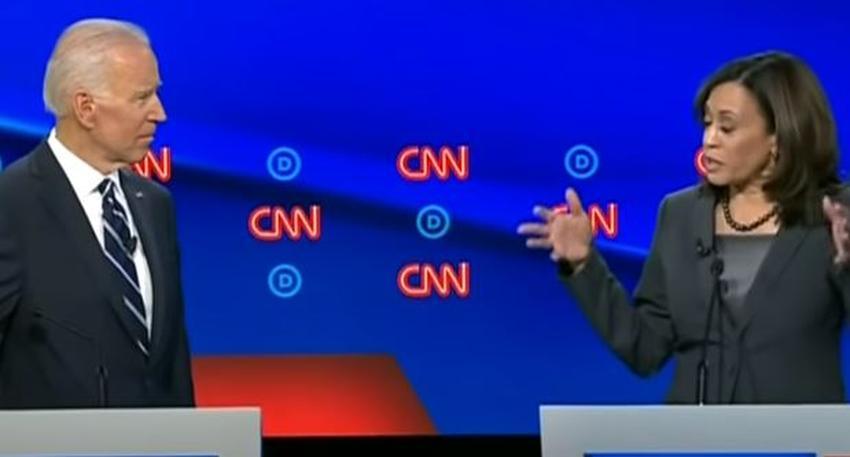 Candidato demócrata Joe Biden escoge a Kamala Harris como candidata a vicepresidente
