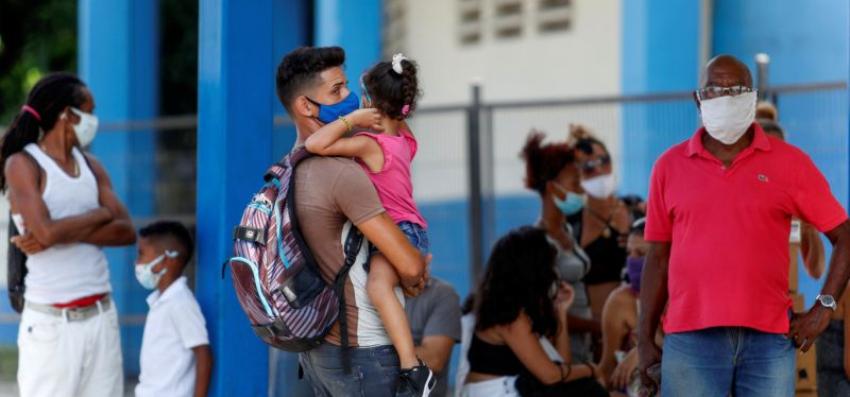 Cuba cierra el mes de agosto con 558 casos activos de Covid-19, y más de 1.000 personas bajo vigilancia clínico epidemiológica