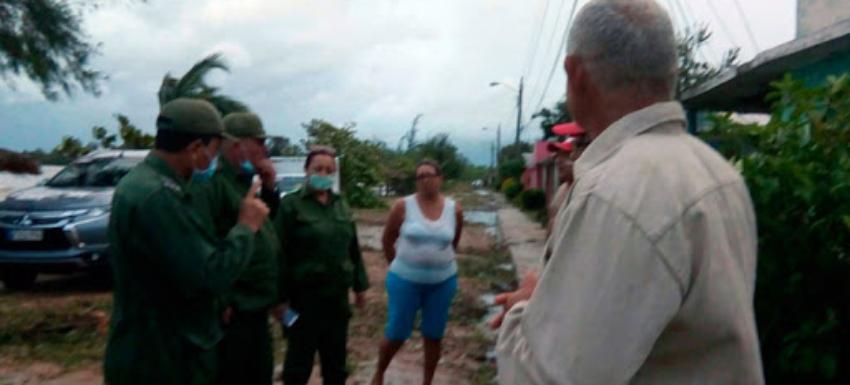 Tormenta tropical Laura deja más de 2.000 viviendas afectadas en Cuba