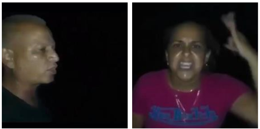 Cubanas salieron a protestar en Placetas, tras más de seis horas sin luz eléctrica
