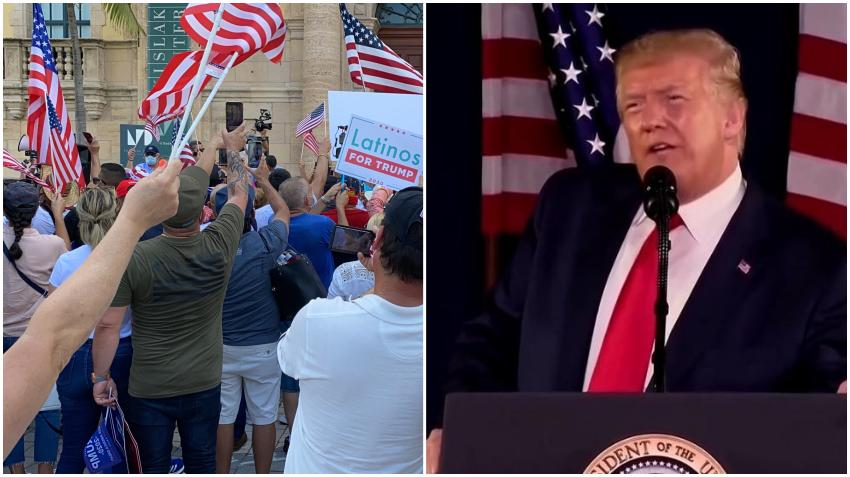 Gran mayoría de cubanos en Miami votarían por Trump en las elecciones de noviembre según encuesta
