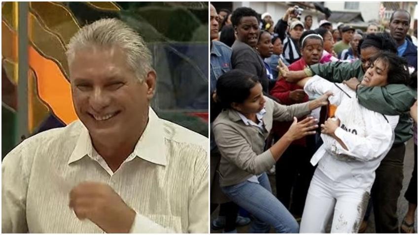 """Díaz-Canel afirma que las calles de Cuba son solo para los """"revolucionarios"""""""