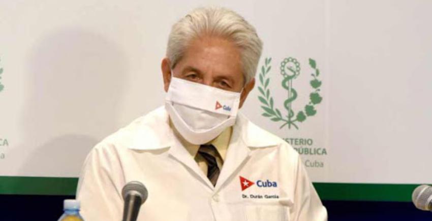 El Doctor Durán pide a la población hacer colas con distancia física, ante el alza de Covid-19 en Cuba: 650 nuevos casos en un día