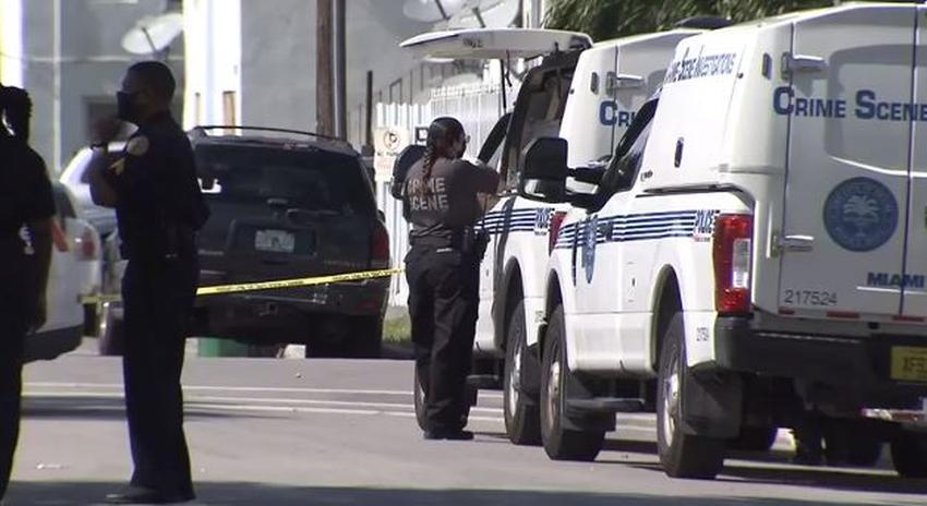 Tres personas resultan heridas en un tiroteo en Miami
