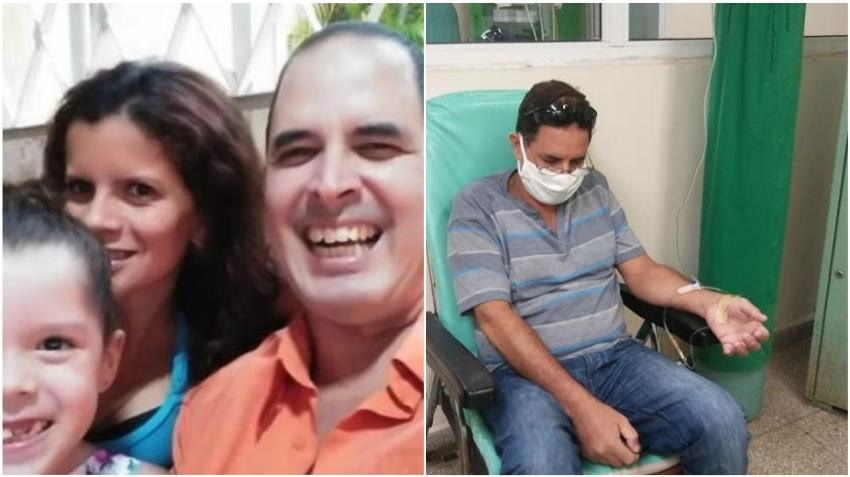 Madre cubana pide ayuda para salvar la vida de su esposo que padece de un agresivo cáncer