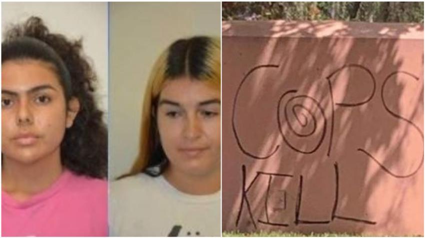 Detienen a dos mujeres de Miami por ola de graffitis en Coral Gables, buscan a otras tres personas