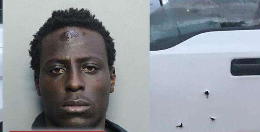 Hombre extremadamente peligroso que disparó a autos de la policía de Miami-Dade fue arrestado