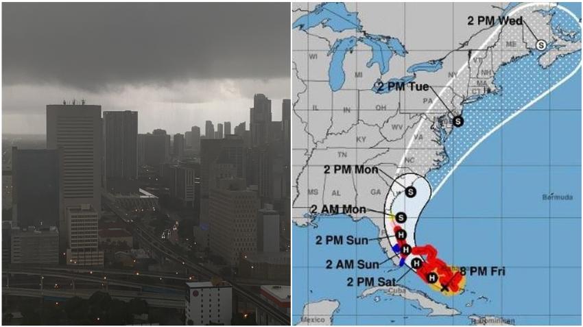 Los efectos del huracán Isaias comenzarán a sentirse en Florida desde el sábado en la tarde