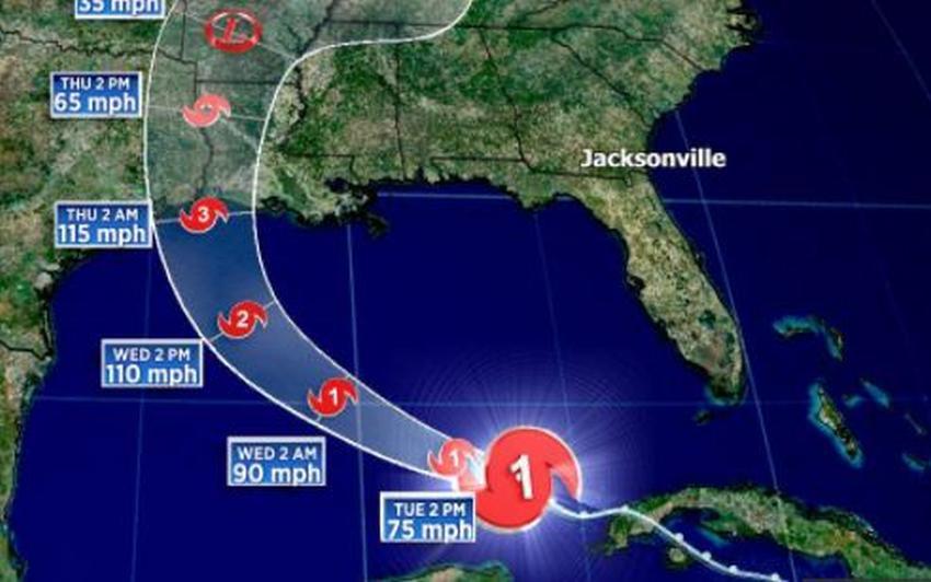 Laura sale de Cuba y se convierte en huracán; avanza hacia Estados Unidos
