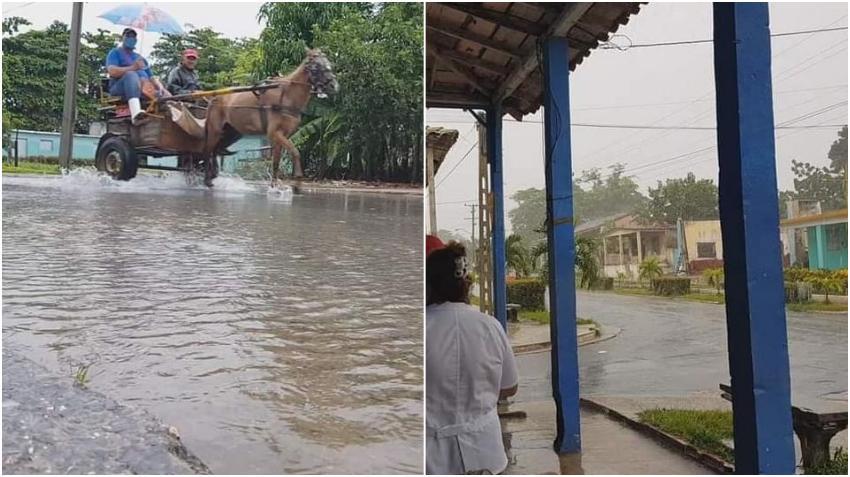 Fuertes lluvias por la tormenta tropical Marcos causan inundaciones en el territorio de Pinar del Río