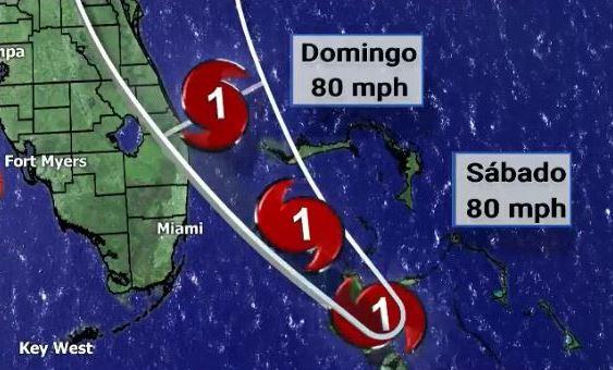 Miami-Dade y Broward quedan fuera del cono de trayectoria del huracán Isaias
