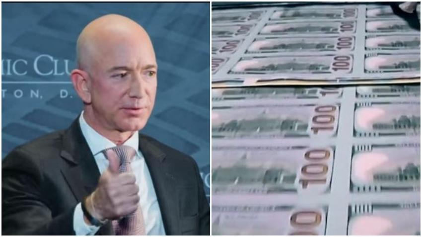 Jeff Bezos rompe su propio récord y se convierte en el primero en el mundo en ganar 200 mil millones de dólares