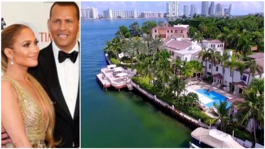 Jlo y Alex Rodríguez compran casa de 40 millones en la Isla de las  Estrellas en Miami Beach