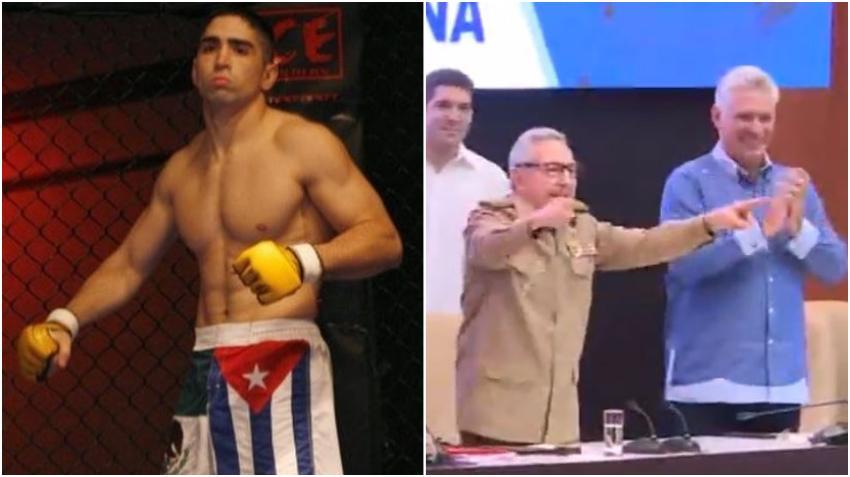 Peleador de origen cubano Ricardo Lamas pide a los cubanos que se unan para luchar por el fin de la dictadura en Cuba