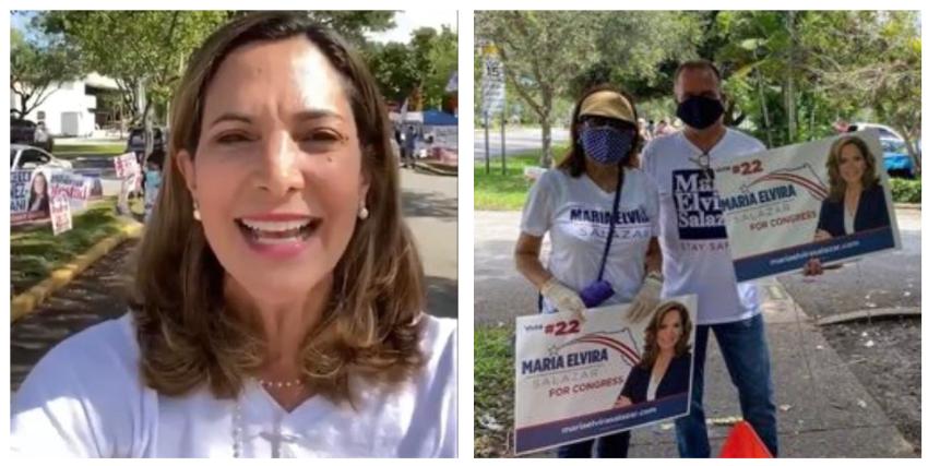 Maria Elvira Salazar agradece a sus seguidores por la contundente victoria en el partido republicano para la nominación por el Distrito 27