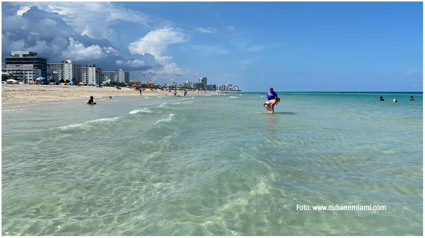 Emiten alerta por bacteria para una sección de Miami Beach