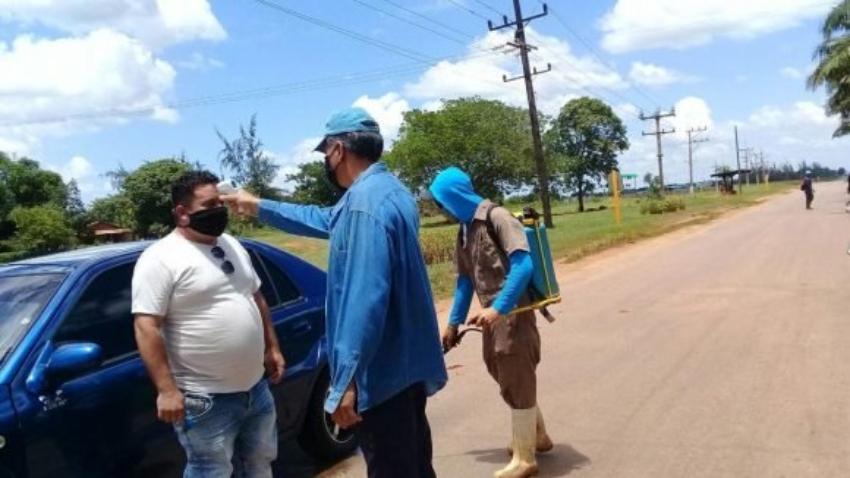 Un mes de cuarentena en el municipio Venezuela de Ciego de Ávila por cuatro casos de Covid-19, y 136 contactos aislados
