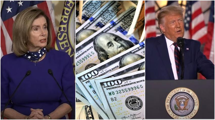 Pelosi rechaza plan de ayuda económica de Trump de 1.3 billones de dólares por considerarlo insuficiente