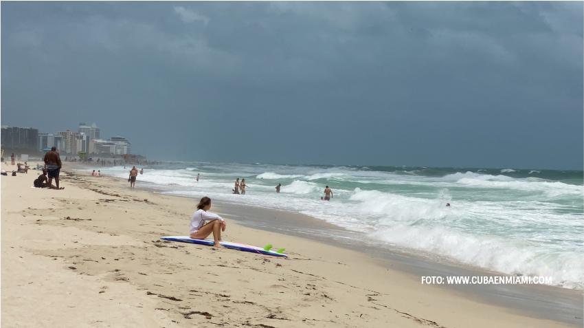 Frente frío podría traer bajas temperaturas a Miami
