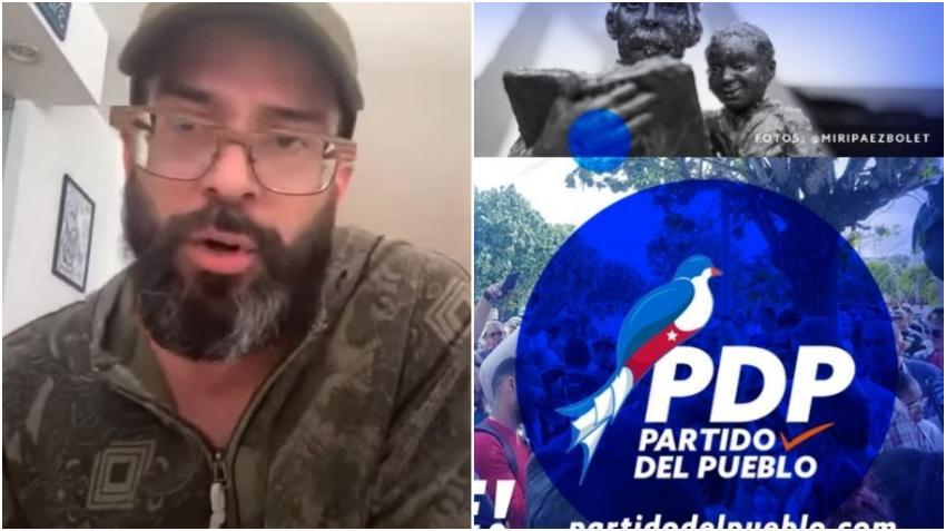 Presentador cubano Alex Otaola explica la idea detrás del Partido del Pueblo y sus objetivos