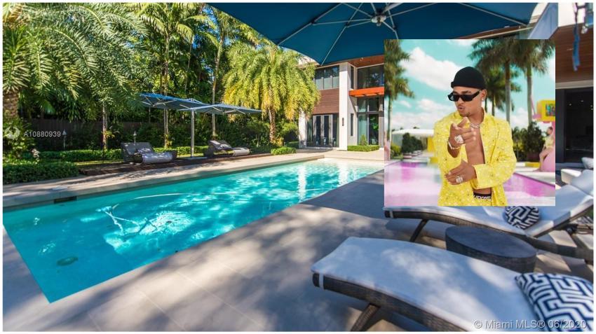 Reguetonero Ozuna se compra una mansión en Miami por casi 5.5 millones de dólares