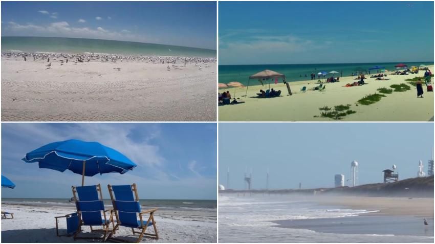Playas escondidas en Florida ideales para disfrutar del verano y el buen clima