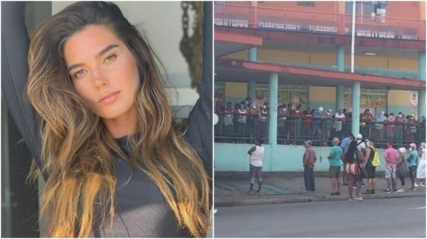 """Modelo cubana explota contra la dictadura: """"Cuba está sufriendo más de 61 años de una dictadura que ha separado familias y ha matado de hambre a su propio pueblo"""""""