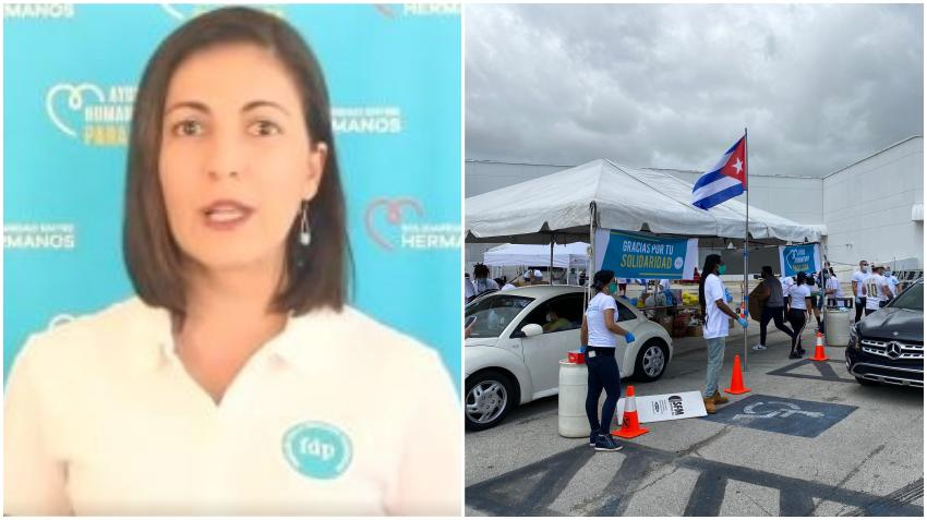 Rosa María Payá anuncia que la ayuda recogida en Miami para los cubanos en la isla llegó a Cuba; Exige a la Aduana que cumpla con su obligación de entregarla
