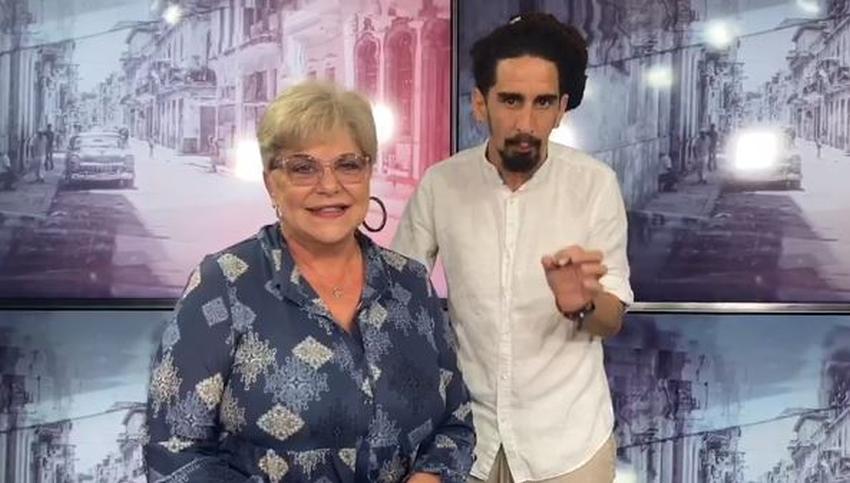 """Actriz cubana Susana Pérez y Chucho del Chucho comenzarán programa en vivo titulado """"Cuba Primero"""""""