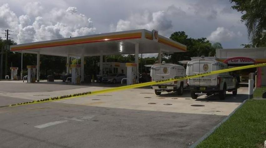 Policía intensifica la búsqueda del asesino de un hombre baleado en una gasolinera del suroeste de Miami Dade