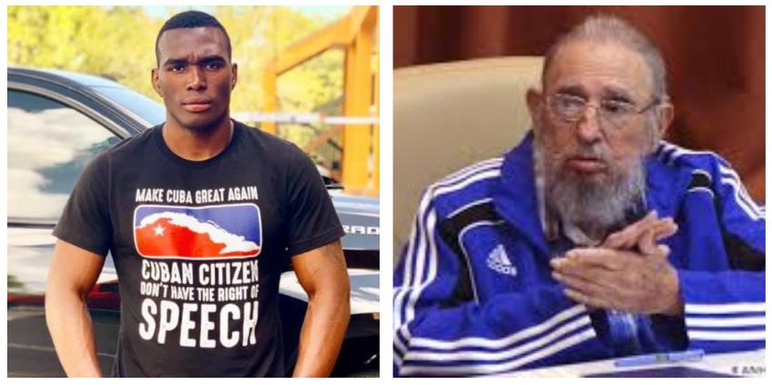"""Boxeador cubano Gustavo Trujillo sobre Fidel Castro: """"Hace 61 años atrás llegó a nuestra Isla la desgracia llena de mentiras y promesas falsas"""""""