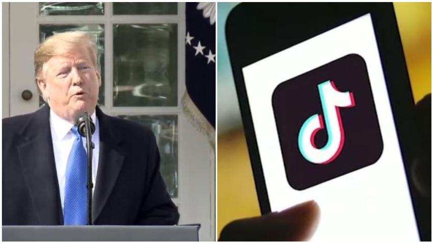 Trump dice que tomará medidas para prohibir Tik Tok en Estados Unidos